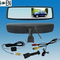 .4.3 Inch Monitor Rearview Mirrors Radar