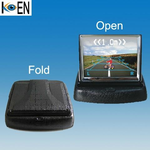3.5 inch TFT lcd color car monitor KM0335 1