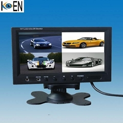 7.0 Inch TFT LCD Car Quad Monitors KM0707