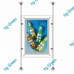 Hanging Crystal LED light box-1