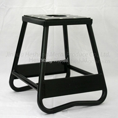 Black Bike stand static box type alloy