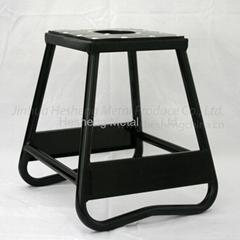 Black Bike stand static box type alloy