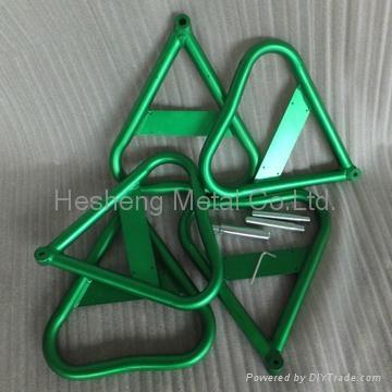 Aluminum Dirt Bike Triangular Stand 2