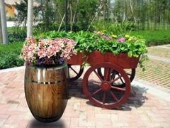 五嶽木質花盆
