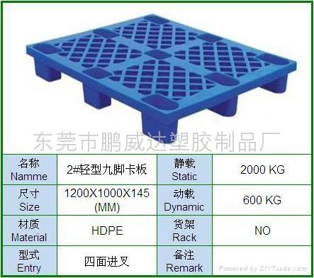 东莞塑料卡板 1