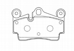 AUDI Q7 ceramic brake pad