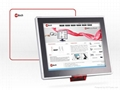 "15"" industrial touch screen PC with barcode scanner 2"