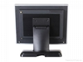 "15"" industrial touch screen PC with barcode scanner 3"
