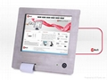 """10"""" stainless steel touch panel PC with built-in printer 2"""