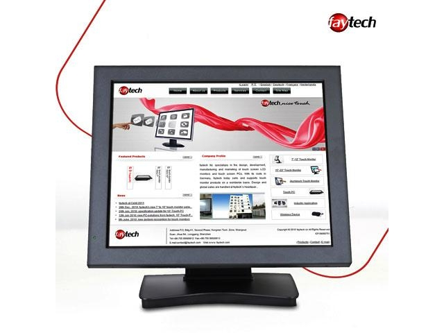 """17"""" fanless industrial touch computer 1"""