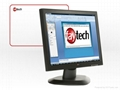 """19"""" industrial panel touch monitor with Serial touch USB touch 1"""