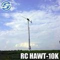 10KW horizontal axis wind turbine