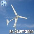 Micro 3KW household windmill generator