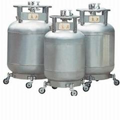 自增压式液氮生物容器