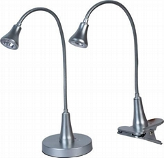 0.6w safe and flexible pipe desk lamps, table lights and  LED lights
