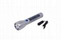 1W solar flashlight and torch