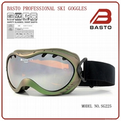 2013 newest style skiing goggle with 100% fog free