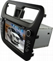 6.95' Digital TFT-LCD Monitor Car DVD/CD Player 2