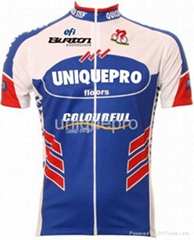 custom fashionable cycling wear for bicycle men