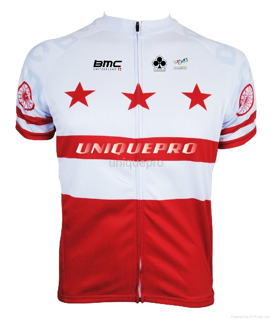 100% polyester custom sulimation cycling jersey 1