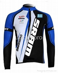 2013 hot sale latest sublimation cycling jersey long sleeve