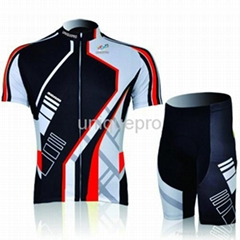fashion custom sublimation cycling jersey in suit