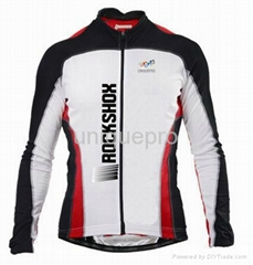 New arrival 2013step team cycling jersey in long sleeve