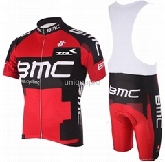 New Style 2012 cycling wear 100% polyester cycling jersey in suits