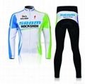 Fashionable men's cycling jersey in suits 100% polyester