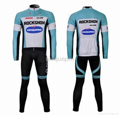 Best Selling Cycling Jersey! 2013 Spring cycling clothing long sleeve in suit