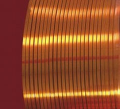 Enameled Rectangular Copper Wire