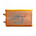 3.7V 2700mah lithium polymer battery rechargeable li-ion battery