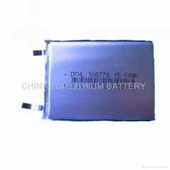 3.7V 4200mah lipo battery for tablet pc,GPS device,RC models