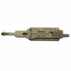 Car Key Decoder for Kia,Auto Lock Key pick decoder original lishi 2in1 free ship