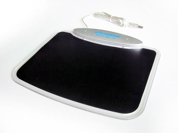 USB鼠标垫 四口USBHUB LED发光鼠标垫 2