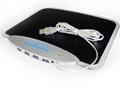 USB鼠标垫 四口USBHUB LED发光鼠标垫 4