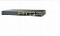 全新思科CISCO WS-C2960S-24TS-L 24  換機 2