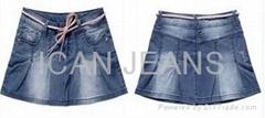 Girls' Jeans  Skirt