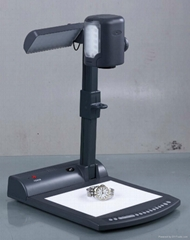Portable digital document camera