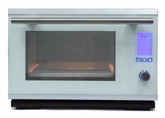 Free standing steam oven with grill R02B