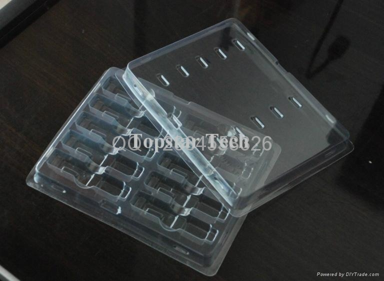 光纤模块包装用品:防静电吸塑盒 2