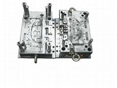 Plastic injection moulds and molded parts