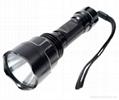 high power cree q5 led flashlight with