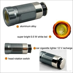 High Quality Flashlight Car Cigarette Lighter C10