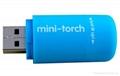 USB Chargeable Plastic Mini LED