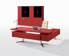 Executive Desk - Leather Furnishing