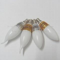 220V-1/3*1W LED 蠟燭燈