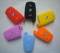 3系汽车钥匙3D硅胶套