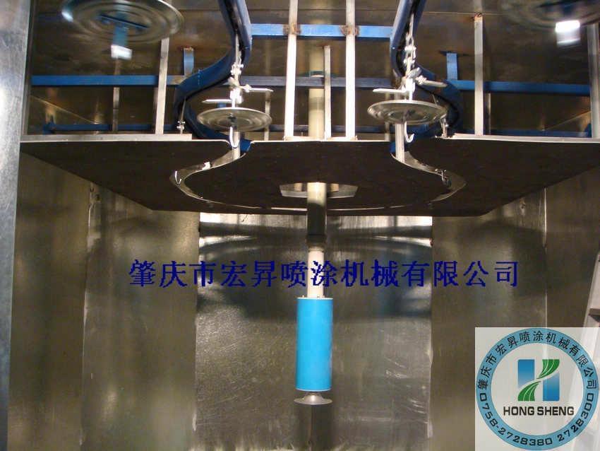 DISK自動靜電噴漆設備 2