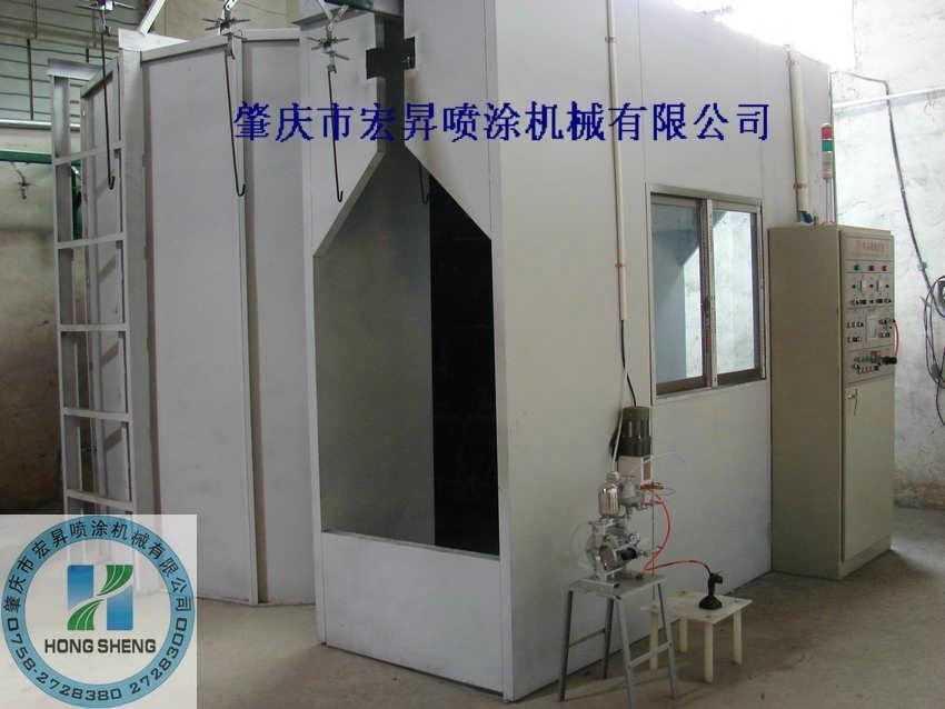 DISK自動靜電噴漆設備 3